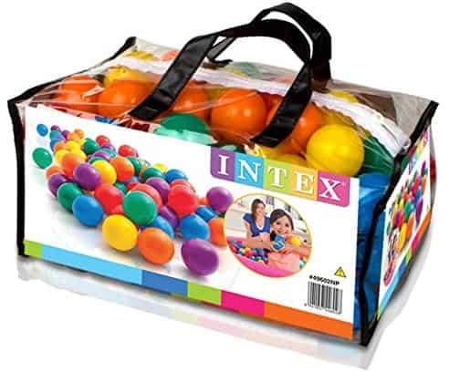 100 palline colorate per bambini  Intex